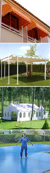 Fabricaci n venta e instalaci n de toldos p rgolas carpas lonas y cobertores de piscinas en - Carpas y pergolas ...
